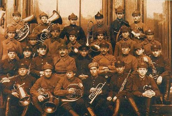 Оркестр капельмейстерского класса 1927-28 г.